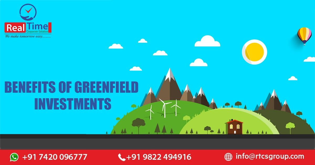 Greenfield investment is a kind of foreign direct
