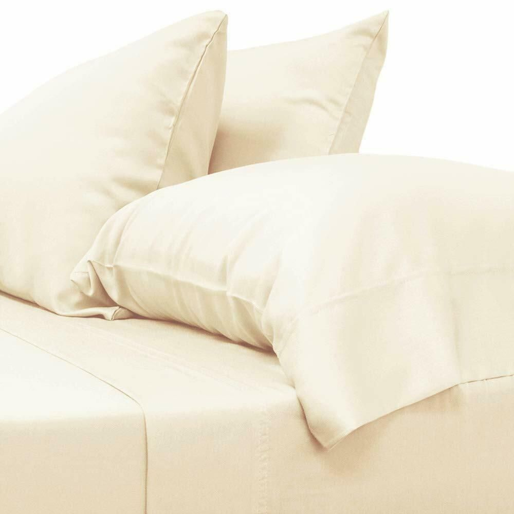 Soft Fitted Sheets Bed Sheet Bedding Cover Protect Mattress Bedding Cover