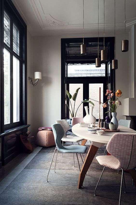 Come mixare i colori dell\'arredamento di casa | casa | Sala da ...