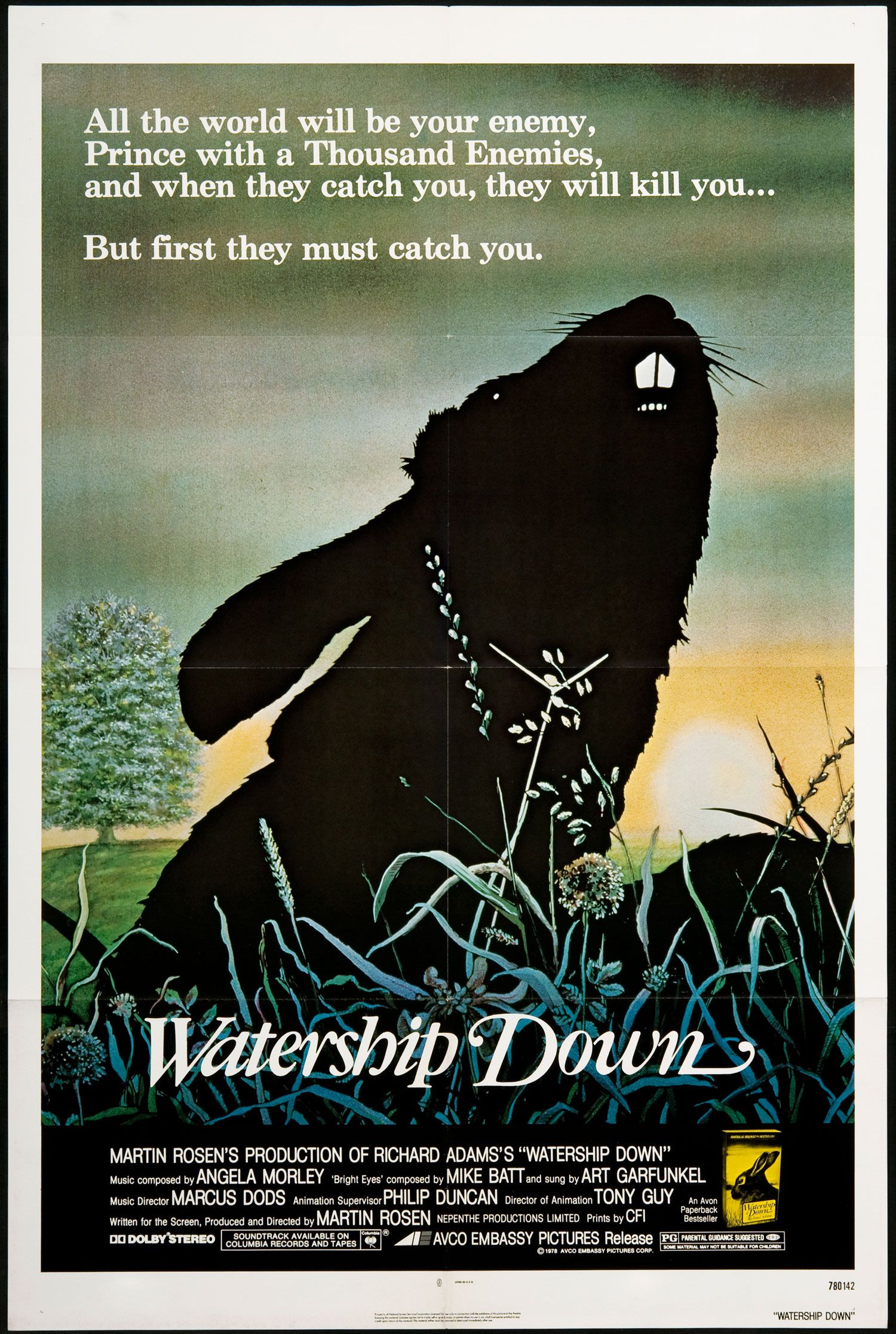 Poster design near me - Watership Down 1978 I Actually Still Have This Movie Poster 34 Odd Years