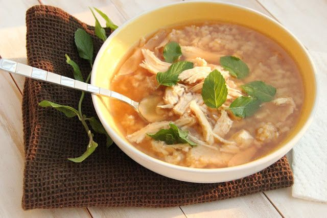 Curry Chicken Broth Soup