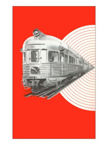 Caboose of Modern Train Posters at AllPosters.com