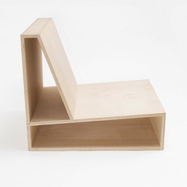 Comfortable And Minimalist Chair With Storage Compartments