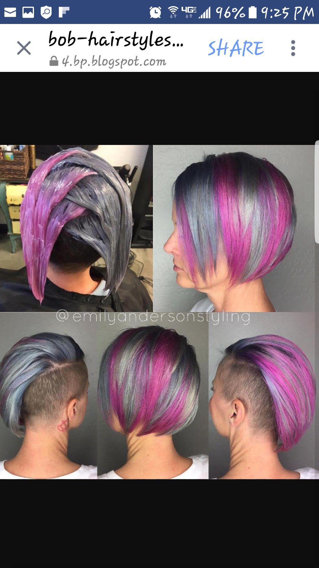 Pin Von Maria Kurtsdotter Auf Frisuren Haarfarben Frisuren
