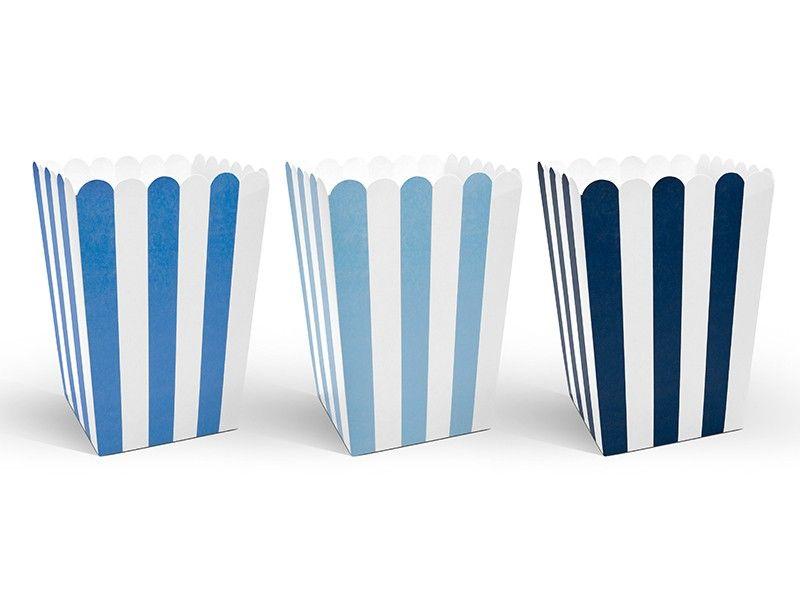 """Blue Stripe"" herkkuastiat 6 kpl"