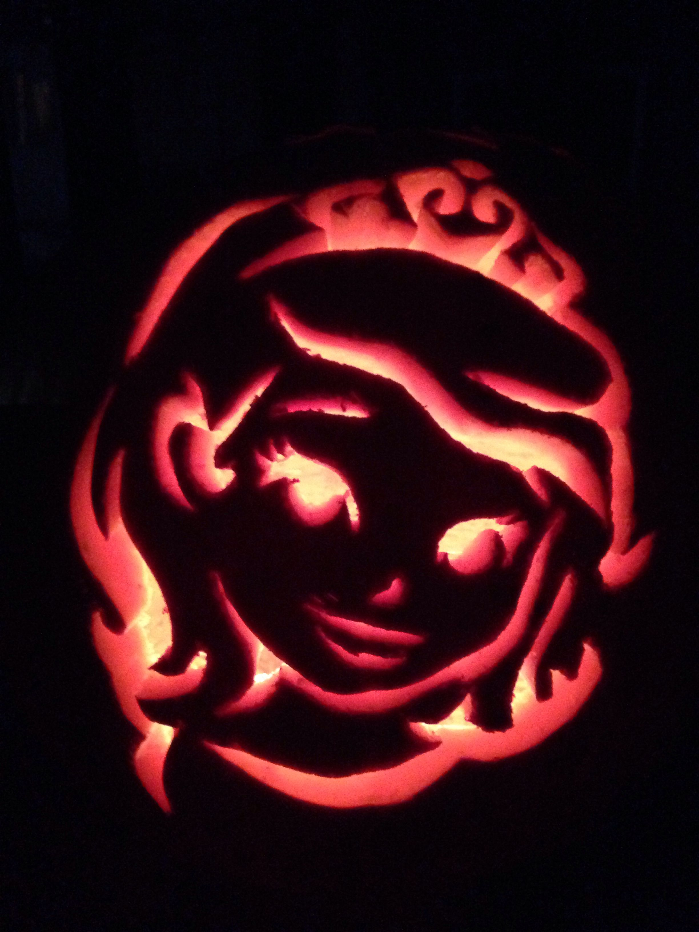 our sofia the first pumpkin carving template from spoonful com http