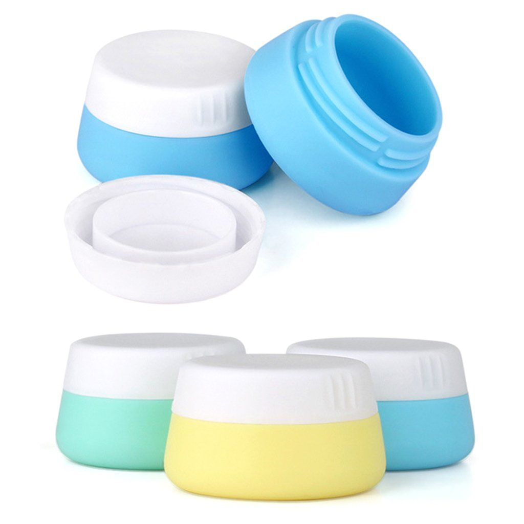 de042db407be SupremeLife 3Pcs/Set 20ml Soft Silicone Cosmetic Containers ...