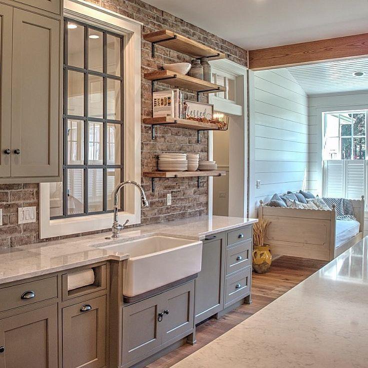 Farmhouse Kitchen Backsplash Images