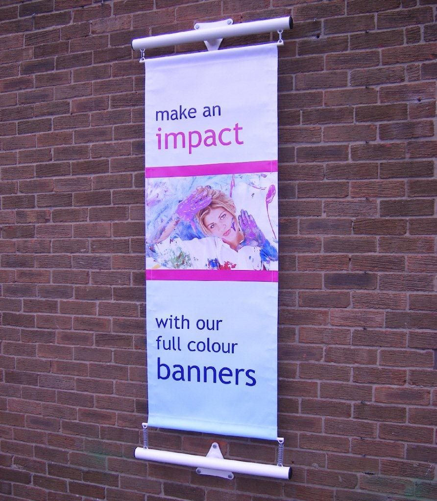 Flat Wall Banner Bracket | Retail Signage | Pinterest | Outdoor ...