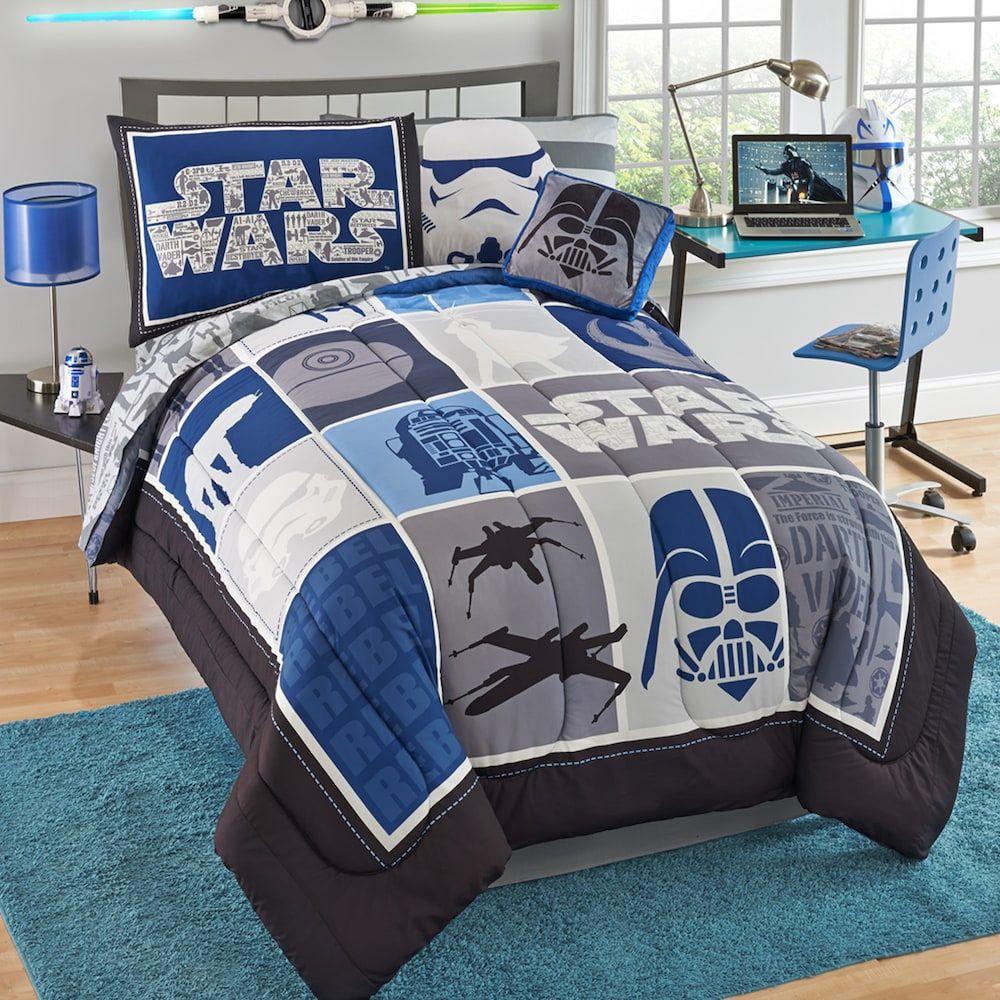Star Wars Kylo Ren Twin Bedding Set In 2020 Star Wars Bedroom
