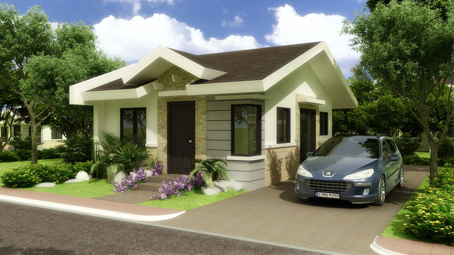 Small modern tropical design amazing architecture online for Small modern bungalow house design