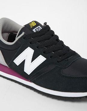 new balance 420 daim noir et gris