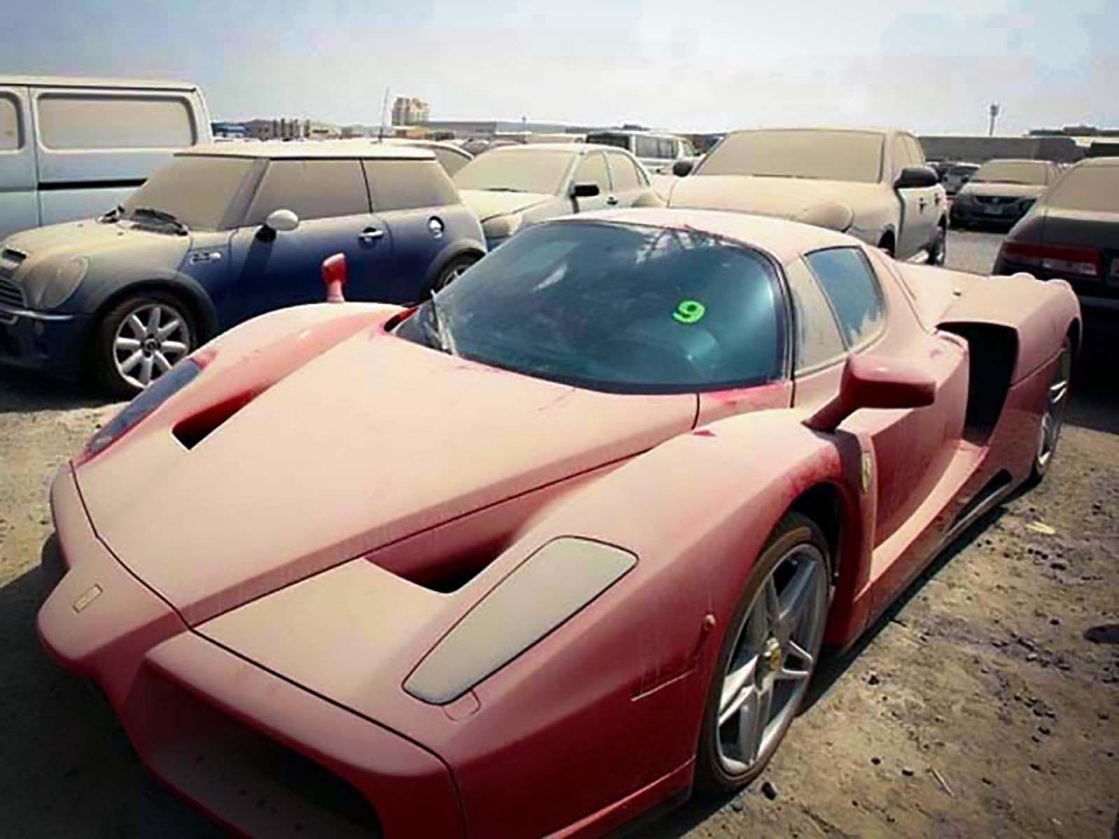 Abandoned Ferrari Enzo Biler Frygt Steder