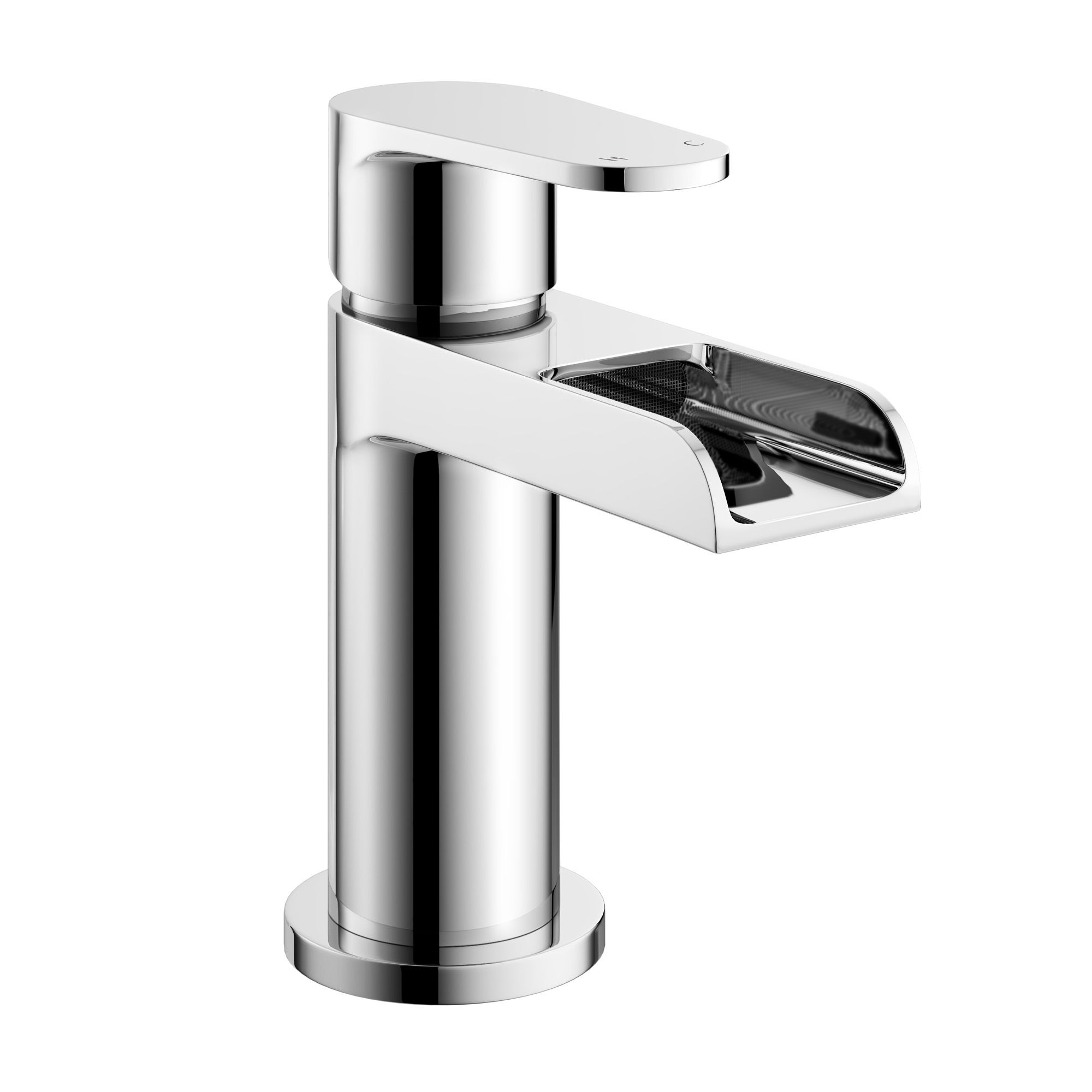 Vienna Waterfall Basin Tap • Modern Design • Kit includes fixtures ...