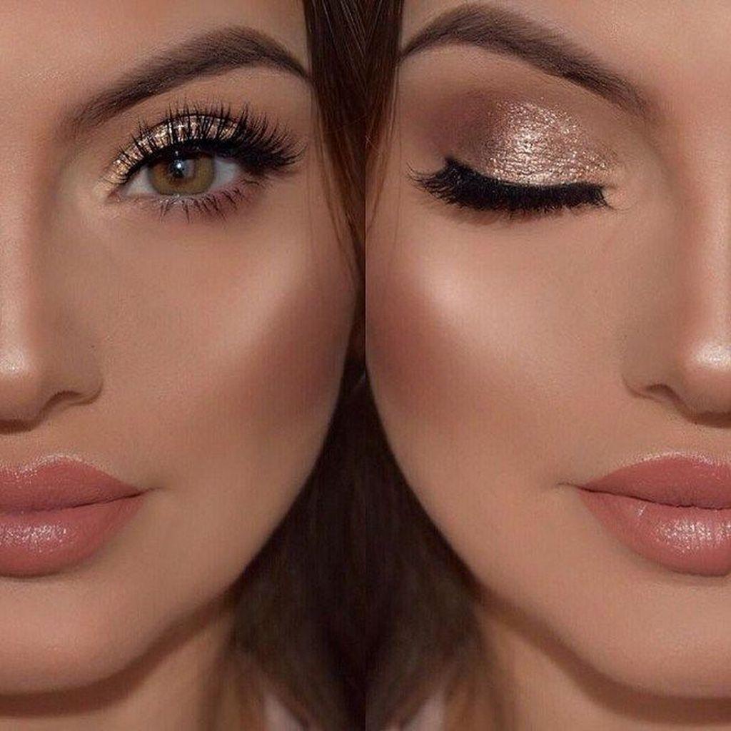 nice 36 Latest Prom Makeup Ideas Looks Fantastic For Women  addicfashion.com/... #beauty makeup #Fantastic #Ideas #Latest #makeup #makeup augen #makeup hochzeit #makeup ideas #makeup tips #Prom #wedding makeup #Women