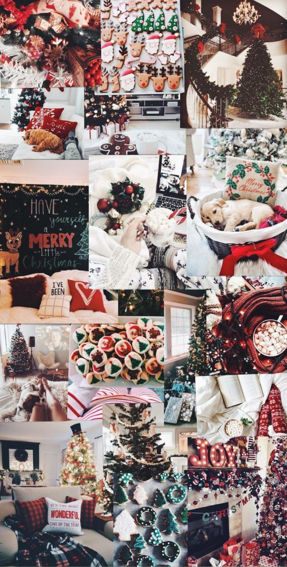 Aesthetic Christmas background Christmas wallpapers