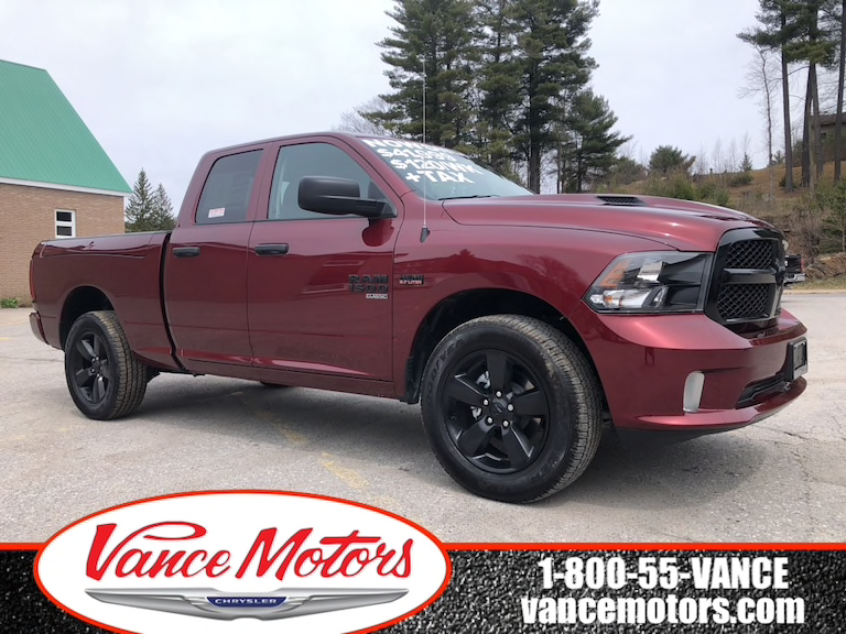 2019 'Red Pearl' Ram 1500 Classic Express Night Edition