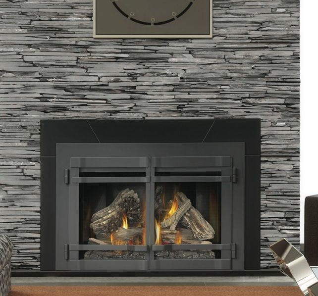 Images of Napoleon XIR4N 40000 BTU Large Deluxe Natural Gas Fireplace  Insert With Heat Circulating Blower - Images Of Napoleon XIR4N 40000 BTU Large Deluxe Natural Gas
