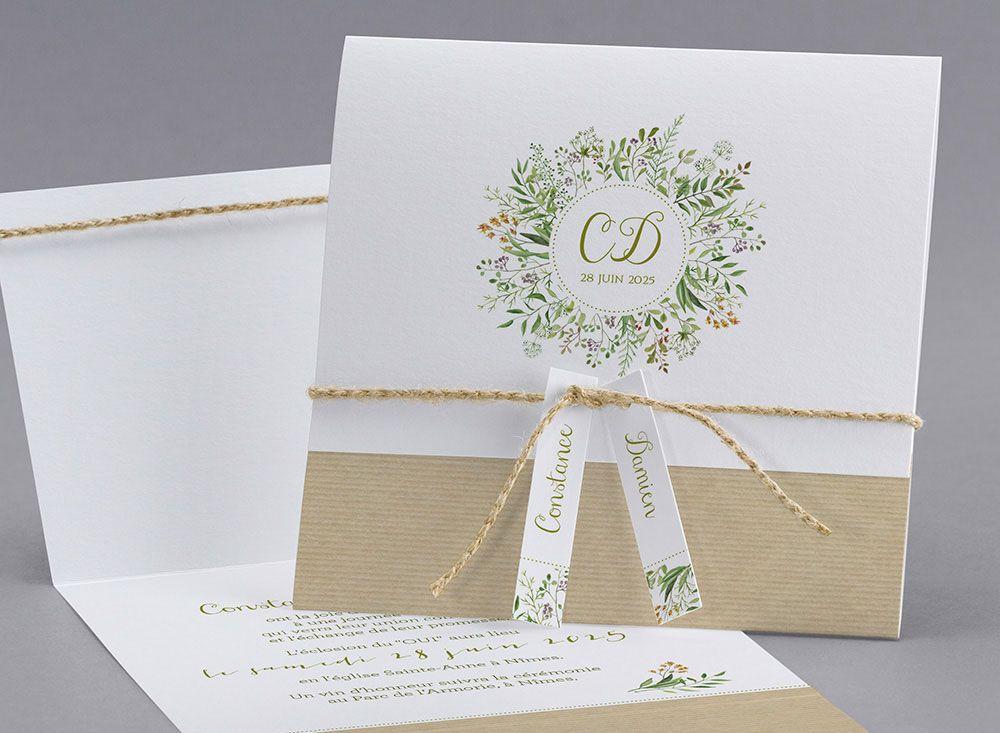 Faire-part de mariage M19-019 Lily of the Valley M19-019 1,39€ Faire ...