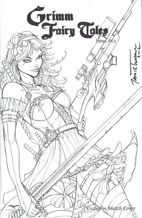 Alice in Wonderland Sketch Cover by jamietyndall.deviantart.com on ...
