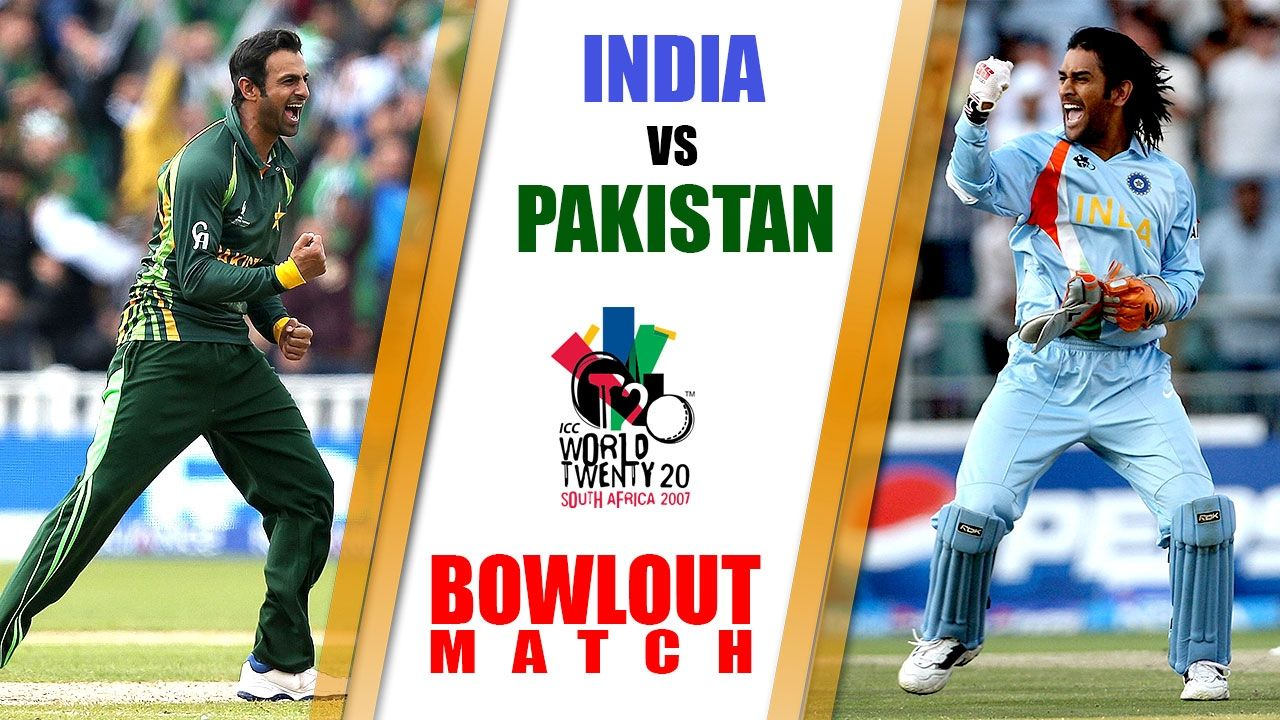 India Vs Pakistan Bowl Out Match Highlights T20 World Cup 2007 In South India Vs Pakistan Match Highlights India