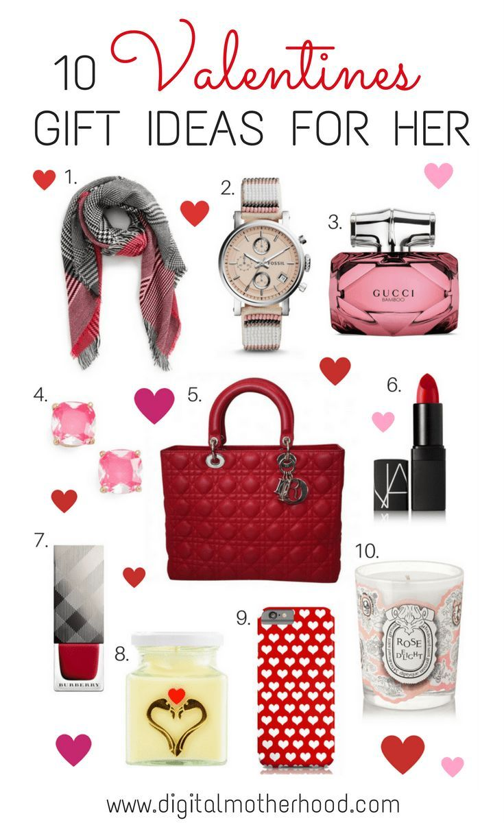10 Valentines Gift Ideas For Her Digital Motherhood Valentine Gifts Valentine Day Gifts Gifts