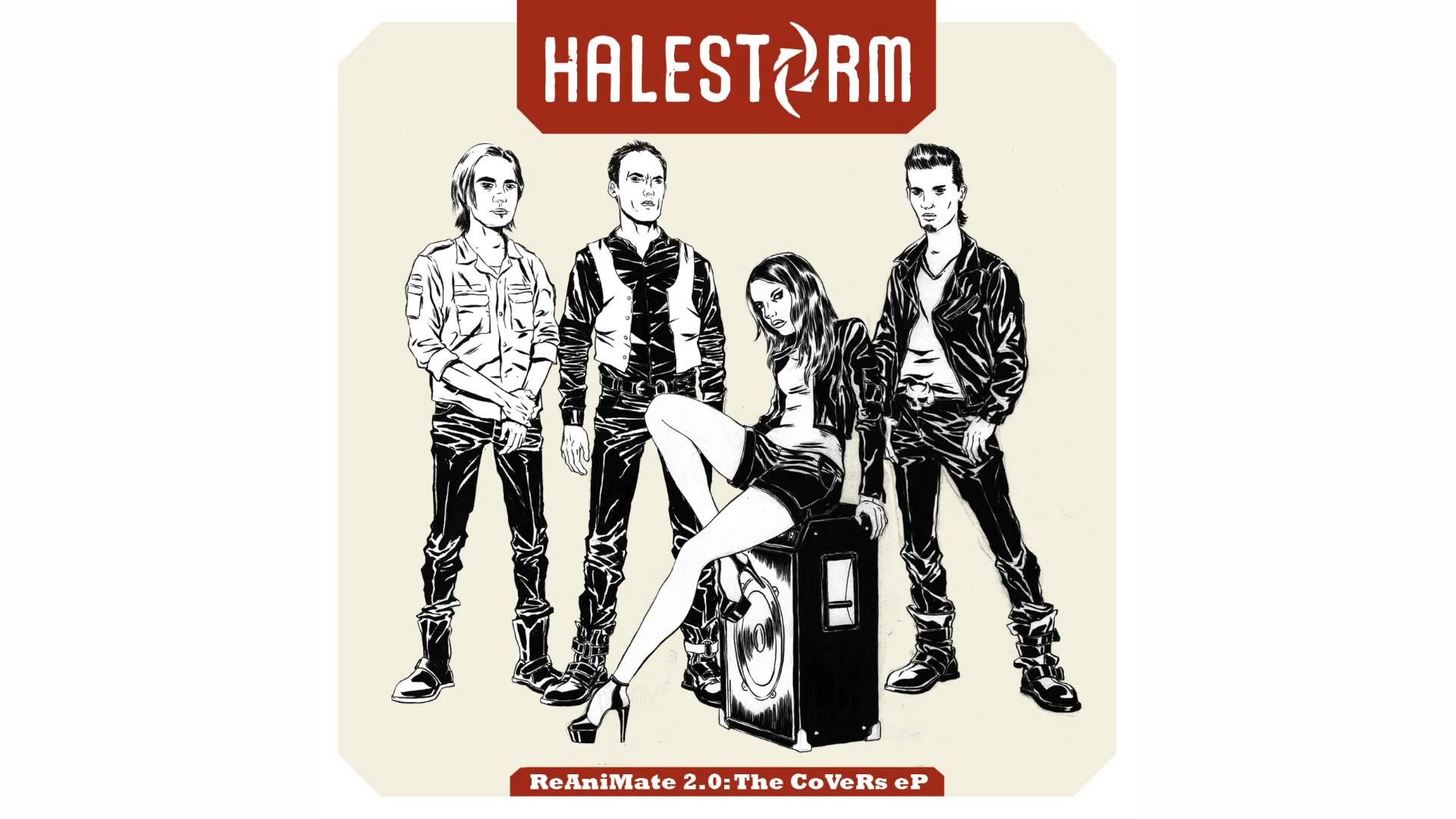Halestorm Get Lucky Daft Punk Cover OFFICIAL AUDIO - Songs like get lucky daft punk popular