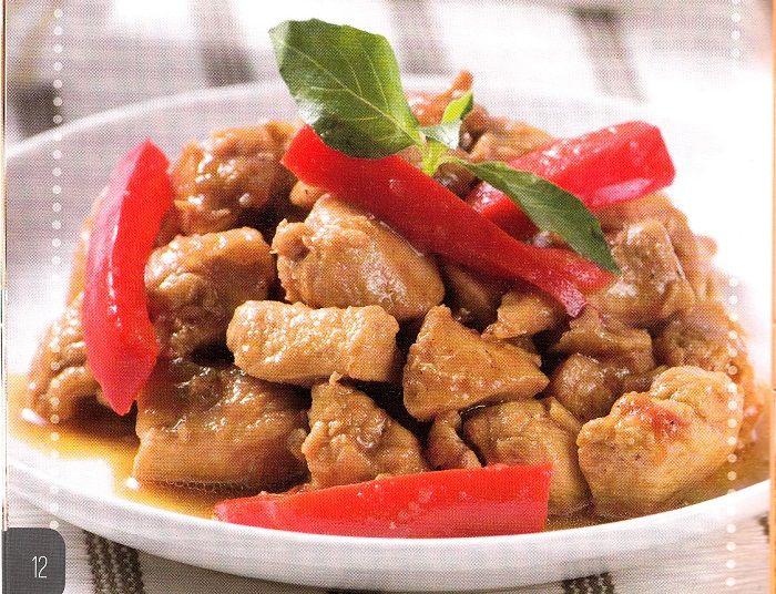 Resep Ayam Tumis Paprika Resep Ayam Resep Masakan Indonesia Tumis