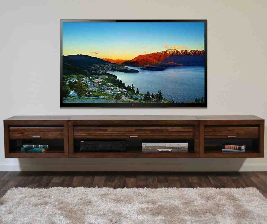 Charmant Wall Mounted Entertainment Cabinet