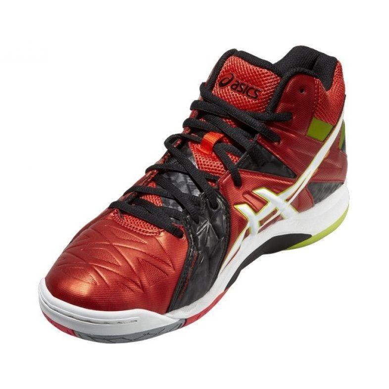 Volleyball Shoes Asics Gel Cyber Sensei 6 Mt M B503y 2101 Red Multicolored Volleyball Shoes Asics Asics Gel