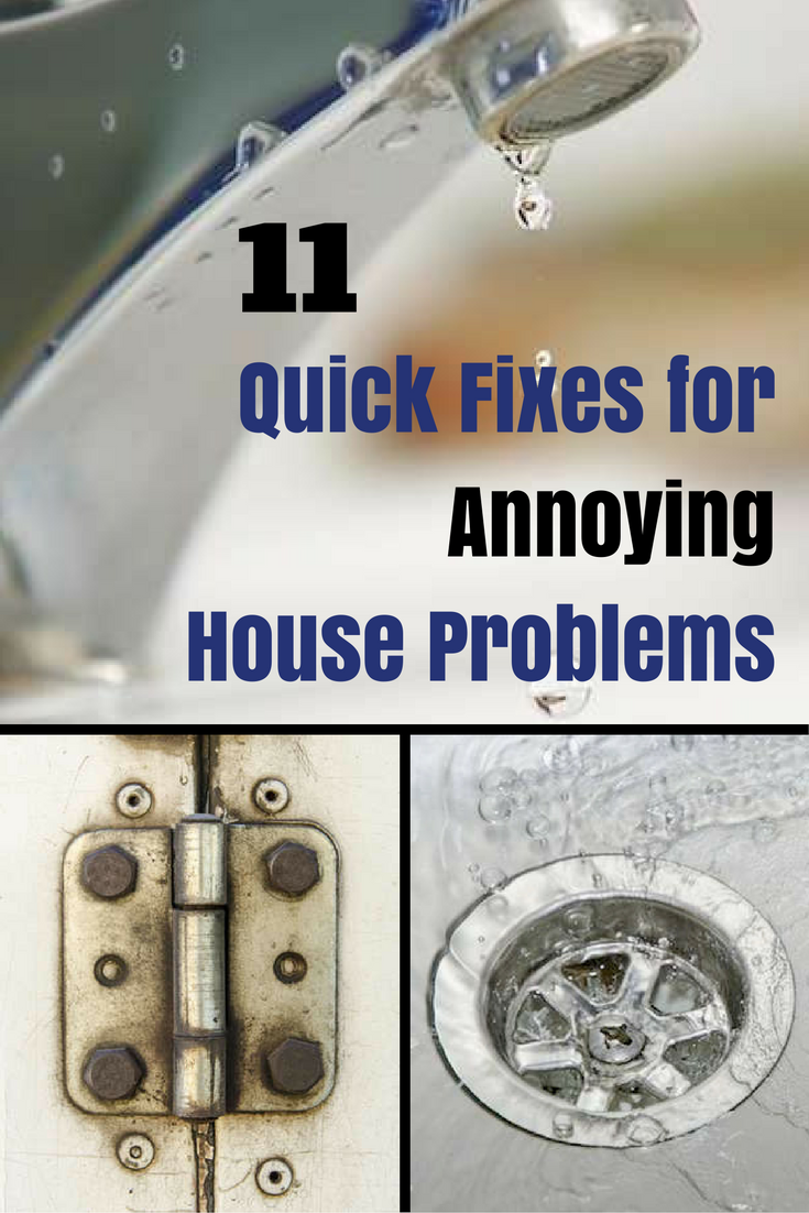 Easy DIY Fixes for 11 Annoying House Problems is part of Big home Projects - It can be a real chore to deal with all of your home's trouble spots and  quirks,  especially after you've learned to live with them  Sometimes it's out of pure procrastination, putting off for months a minor repair that would take only five minutes to complete  Other times, we may delay because we're just not sure how to handle the problem (but we sure don't want to pay a handyman to do something we should be capable of doing ourselves)  Whatever the case, these little annoyances can add up to much bigger frustrations, leaving us with a feeling that the house is completely falling apart  Never fear We've outlined 11 of the most common annoying house problems and provided the quickandeasy fixes that will bring your home back to tiptop shape