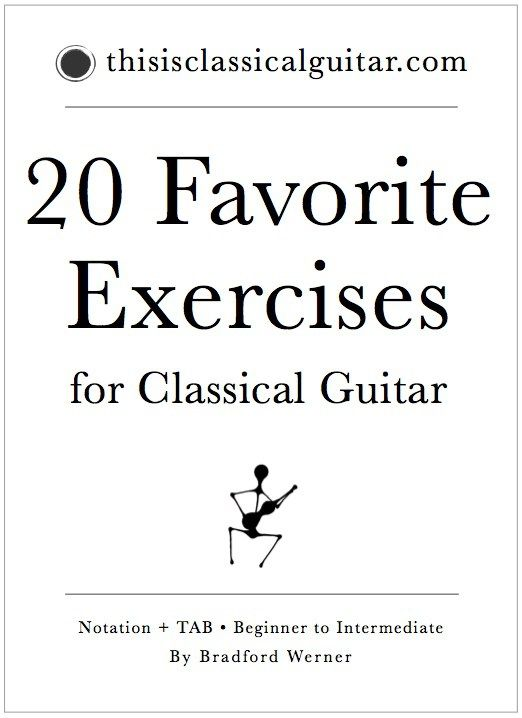 20 Favorite Exercises For Classical Guitar For Beginner To Intermediate Classical Guitarist Classical Guitar Online Guitar Lessons Guitar Lessons For Beginners