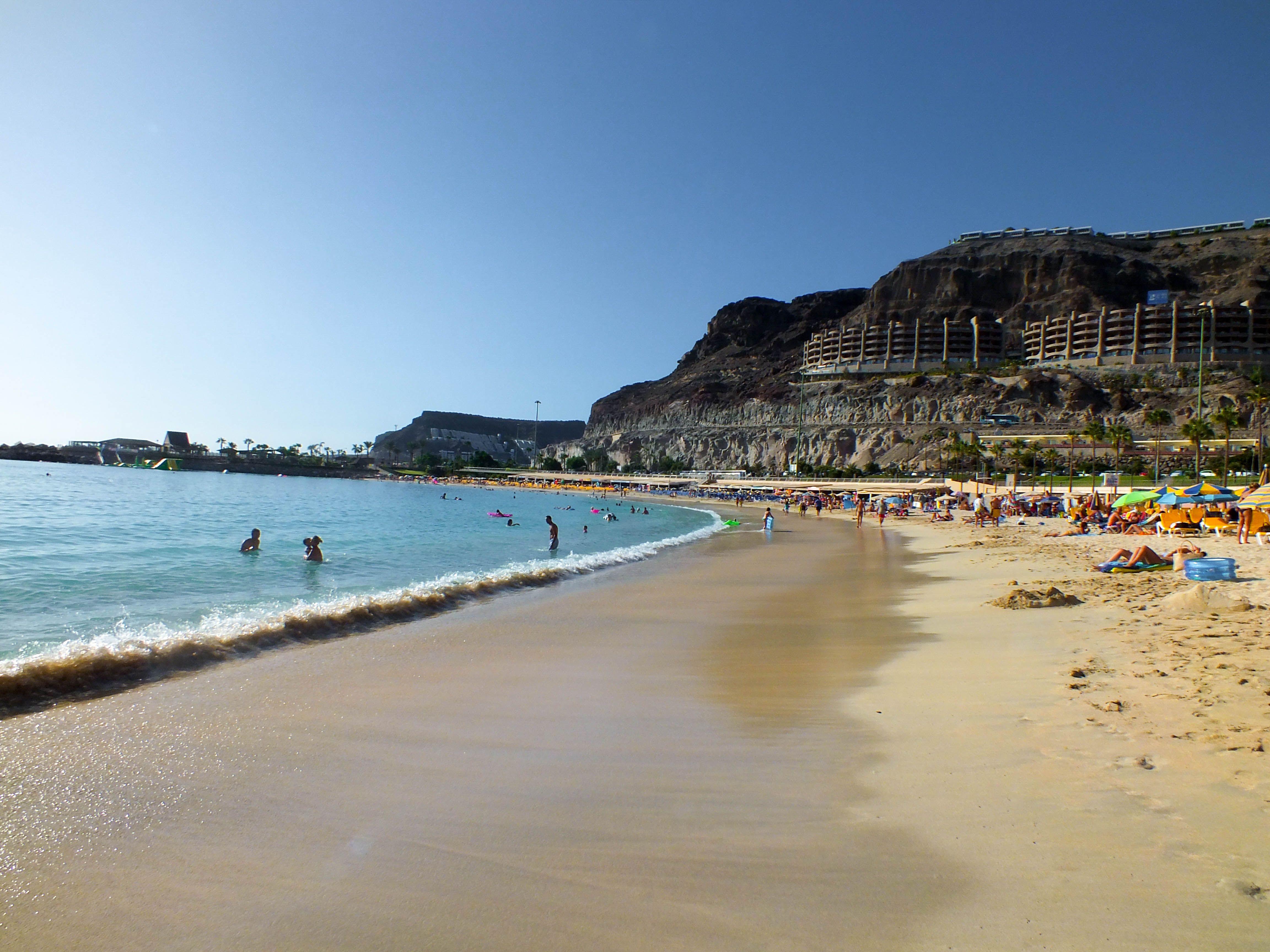 Amadores Beach Gran Canaria Beach Puerto Rico Outdoor