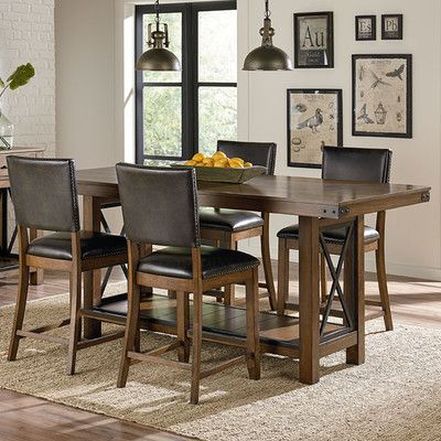 Laurel Foundry Modern Farmhouse Emmy Counter Height Dining Table ...