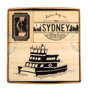 Image of iconic sydney - stamp set