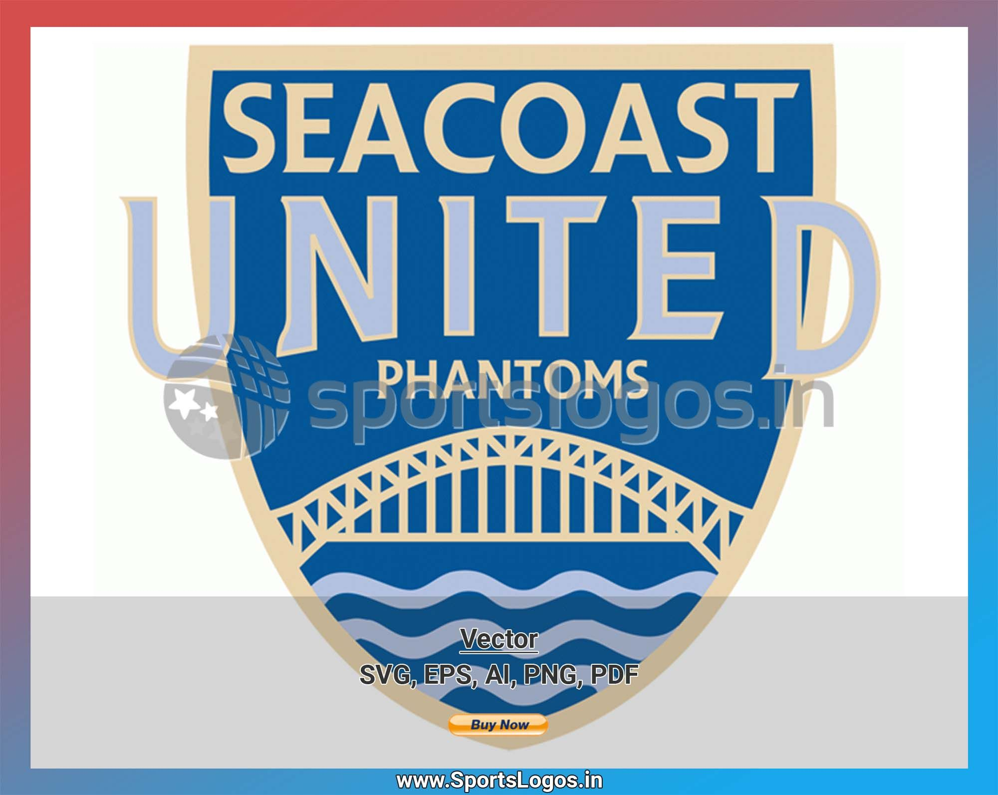 seacoast united phantoms soccer sports vector svg logo in 5 formats spln003922 sports logos embroidery vector for nfl nba nhl mlb milb and more in 2020 sport soccer embroidery logo sports logo pinterest