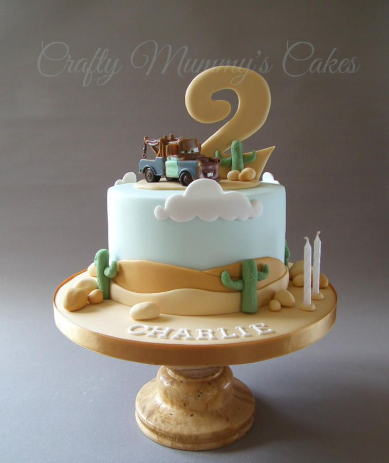 Cars 'Mater' cake - Cake by CraftyMummysCakes (Tracy-Anne) Mater from Cars  https://www.facebook.com/CraftyMummysCakes/