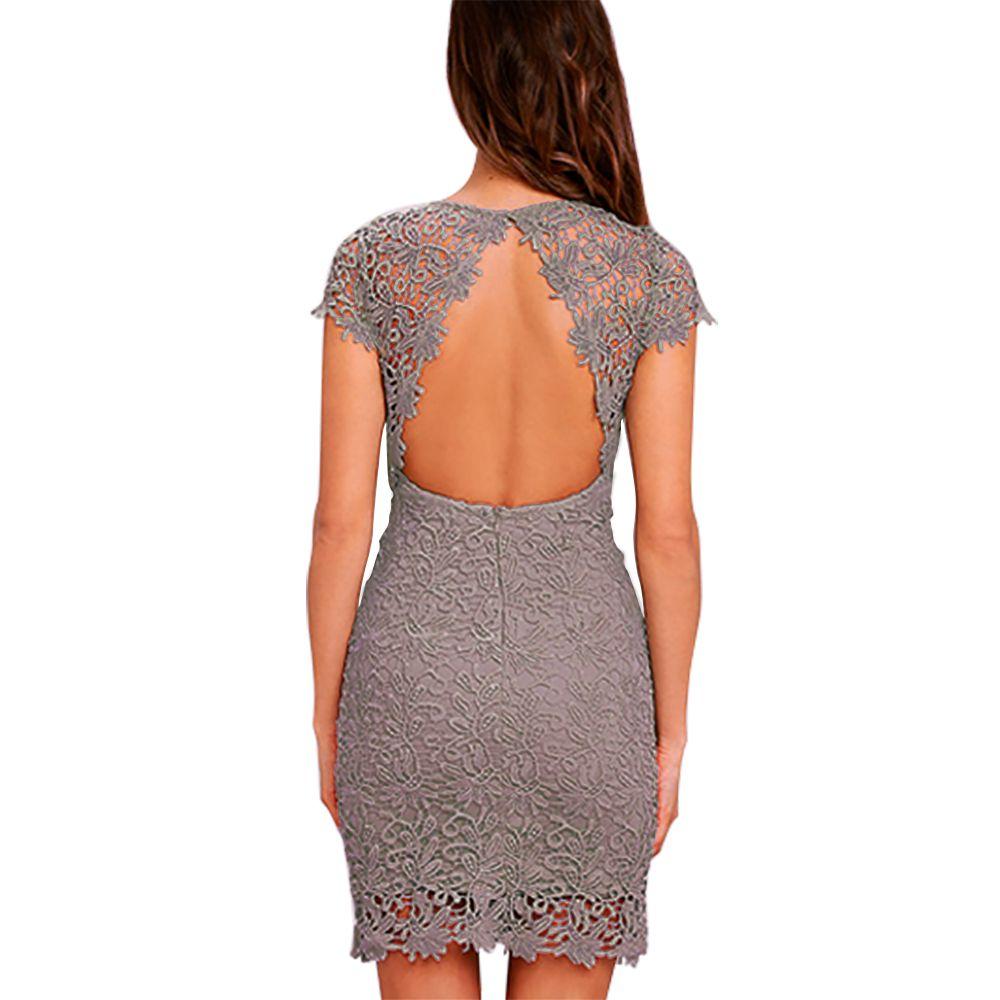 NALATI Elegant dress with high glamor factor. Simple high heels and ...