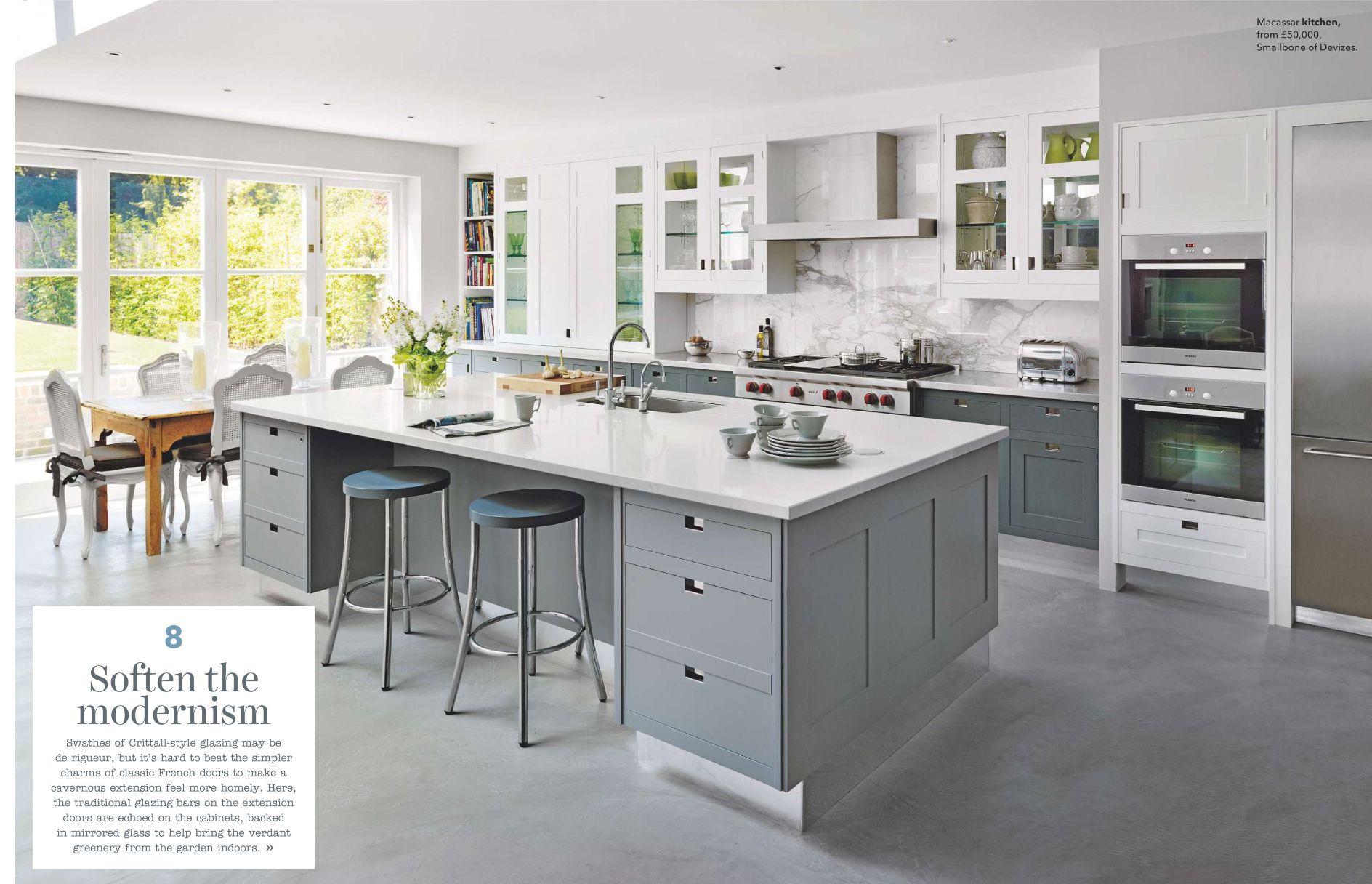 מבנה מוצלח של המטבח אבל לא אוהבת מודרני Smallbone Kitchens Kitchen Extension Layout Kitchen Inspirations