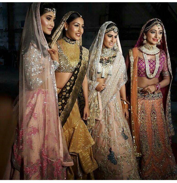 Shivangi Joshi Bridal Look #Naira #Bridal | Fashion clothes women, Celebrity dresses, Designer ...