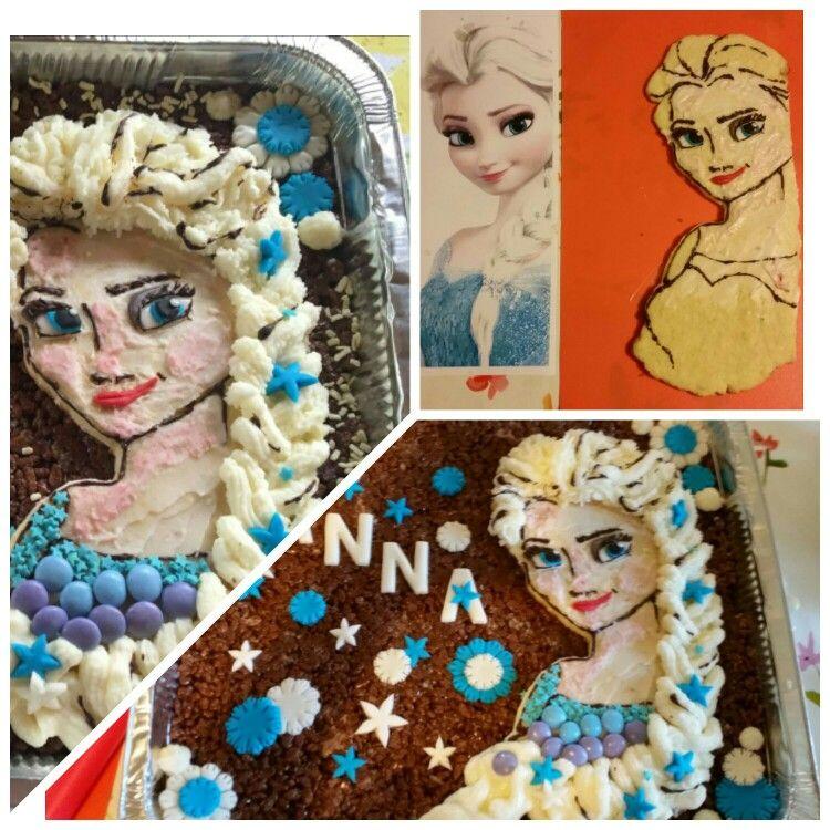 Elsa di biscotto