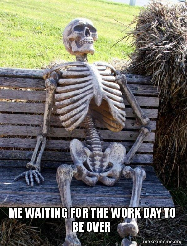 20 Funny Skeleton Memes You Ll Be So Happy To See Today Waiting