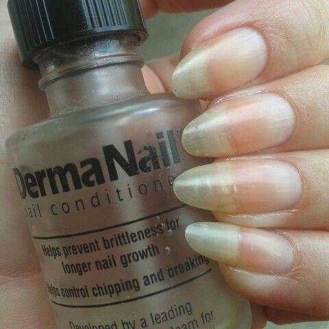 My natural stiletto almond nails are getting pretty long thanks to ...