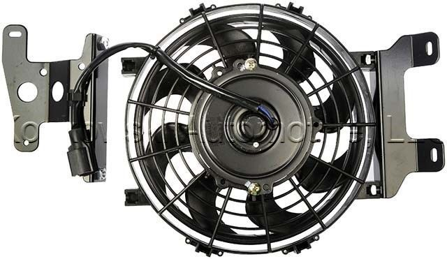 ford explorer radiator cooling fan 02 06 09 10 1l2z 8c607 ac dorman