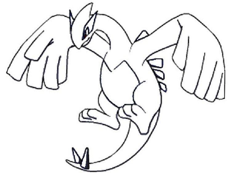 Pokemon Coloring Pages Lugia Pokemon Coloring Pages Pokemon Coloring Pokemon Lugia