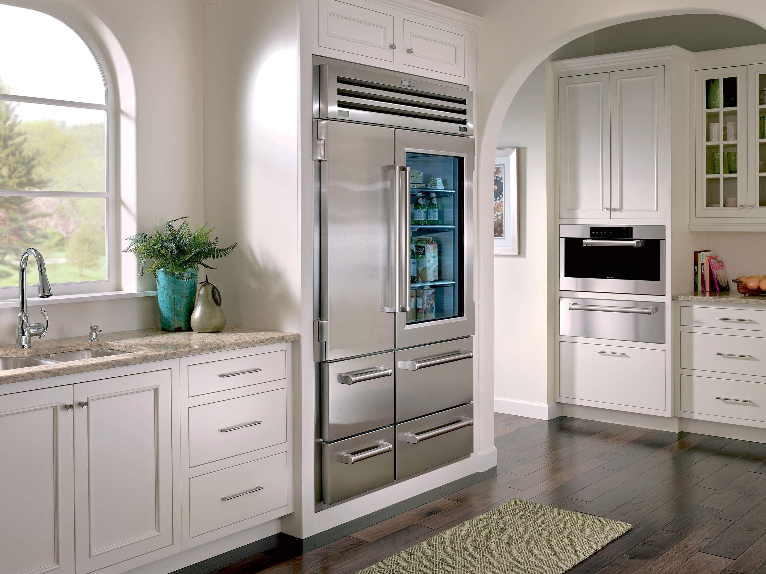 """648prog 48"""" built in sideside pro 48 refrigerator with 30.2 cu"""