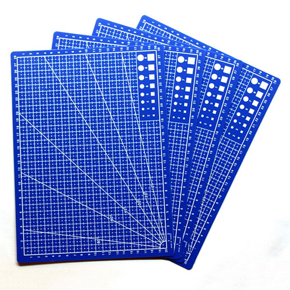 Office A4 Grid Lines Self Healing Cutting Mat Card Fabric Leather Paper Board UK