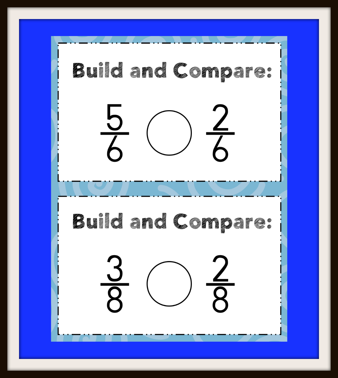 Fractions Equivalency And Comparisons