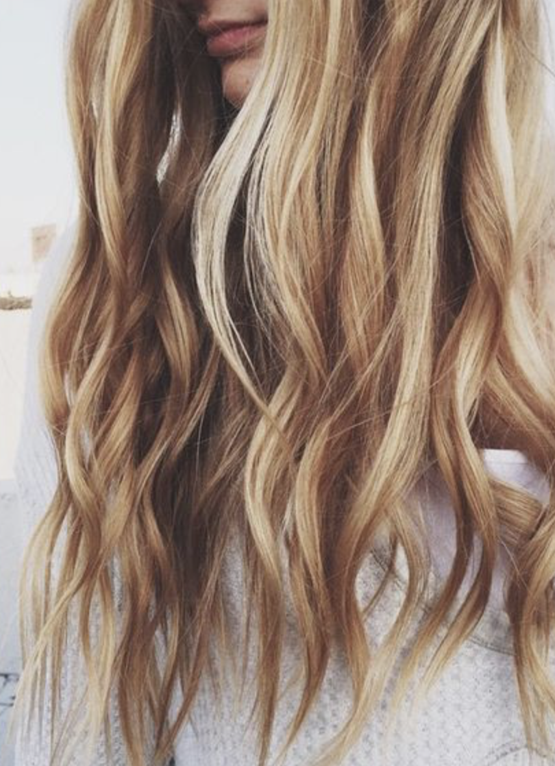 Loose And Long Dirty Blonde Waves