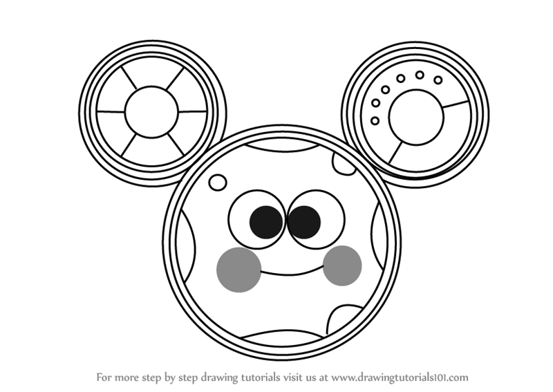 Learn How To Draw Toodles From Mickey Mouse Clubhouse Mickey Mouse Clubhouse Step By Step Toodles Mickey Mouse Minnie Mouse Clubhouse Mickey Mouse Clubhouse